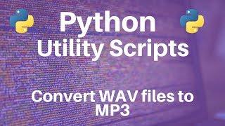 Download Lagu Python: Converting WAV files to MP3 Gratis STAFABAND