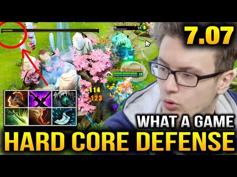 Miracle- Troll Warlord Hard Core Defense Dota 2 7.07 Dueling Fates