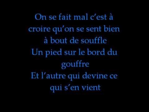 Transistor- Louis-Jean Cormier (paroles)