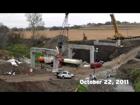Time-Lapse: Keg Creek Bridge Replacement