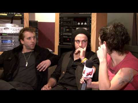 Three Days Grace - Life Starts Now interview with NRJ Video