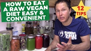 How to Eat a Fruit & Vegetable Diet Easy & Convenient for Busy People