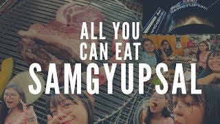 Unlimited Samgyupsal in Manila | meowvlogs