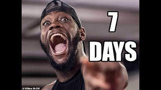 DEONTAY WILDER WILL KO DOMINIC BREAZEALE IN JUST 7 DAYS (THE COUNTDOWN BEGINS)