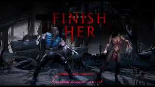 Mortal Kombat X fatalities PC