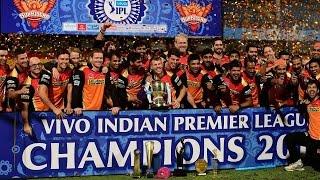 Sunrisers Hyderabad win IPL 2016 trophy, Virat Kohli gets orange cap | वनइंडिया हिन्दी
