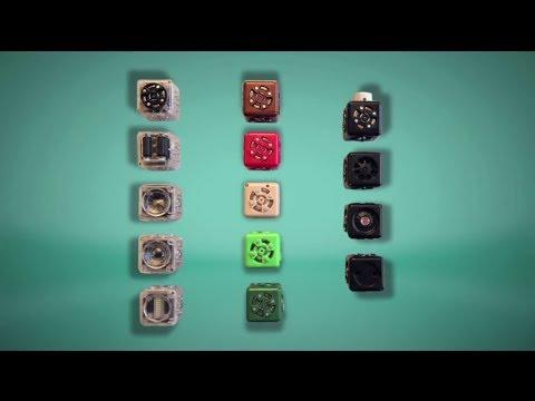 Cubelets, bloques para construir robots con forma de piezas de Tetris