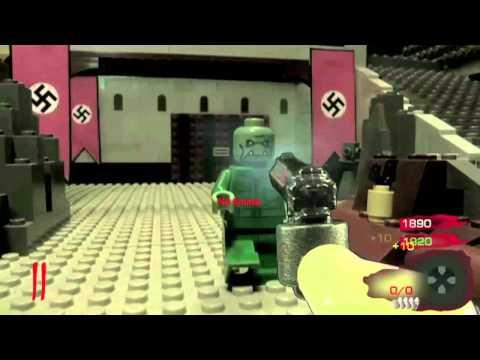 LEGO CoD Nazi Zombies: Kino der Toten (gameplay)