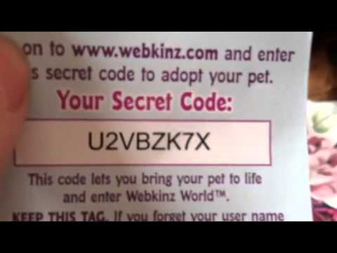 Product description. Webkinz pets are lovable plush pets that each come with a unique SECRET CODE. With it, you enter Webkinz World where you care for your virtual pet, answer trivia, earn KINZCASH to customize your pets rooms, and play the best kids games on the internet.