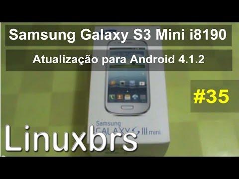 Samsung Galaxy S3 mini i8190 - Atualização Android 4.1.2 - MB1 para MH3 - PT-BR - Brasil