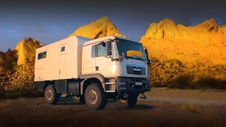 RV for rugged terrain : tour of the Action Mobil Pure 4500