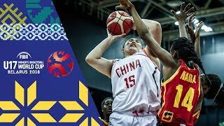 Китай до 17 (Ж) : Ангола до 17 (Ж)