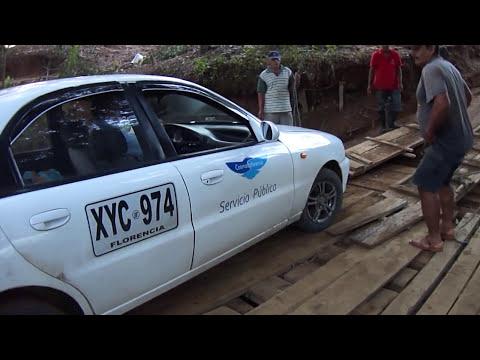 GUERRILLA COLOMBIANA TUMBA PUENTE EN SAN VICENTE DEL CAGUAN