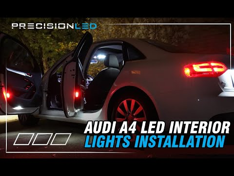 Audi A4 LED install How to - B8 Chassis 2009 - Present