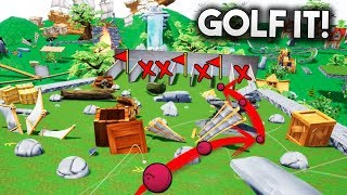 LE ENGAÑO Y LE ROBO EL MAPA!! *TROLLEADA* EN GOLF IT!