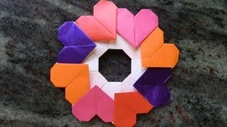 How To Make An Origami Garland Of Hearts Designed By Francis Ow