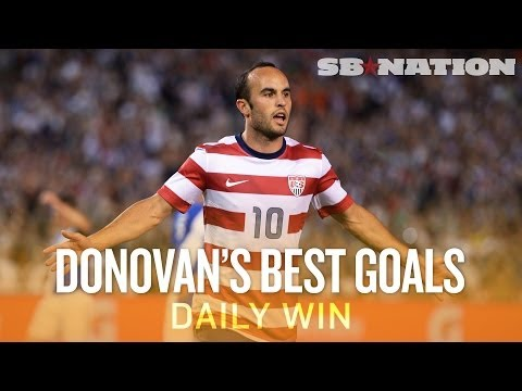 Landon Donovan's five biggest moments for U.S. soccer (Daily Win)