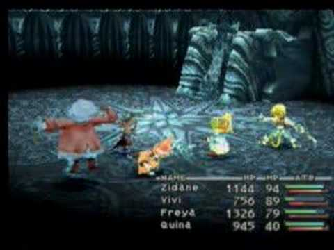 FFIX - End of Disc 1 - Beatrix