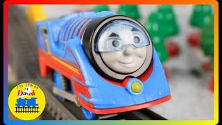 UNBOXING Trackmaster Turbo Thomas Pack THOMAS AND FRIENDS Accidents Happen Kids Playing Toys