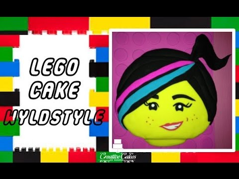 Lego Movie Cake - Wyldstyle / Lucy (How to make)