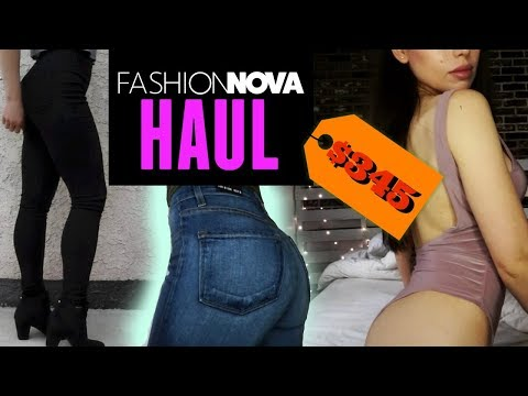 Fashion Nova HAUL & TRY ON | Jeans, Bodysuits, Tops