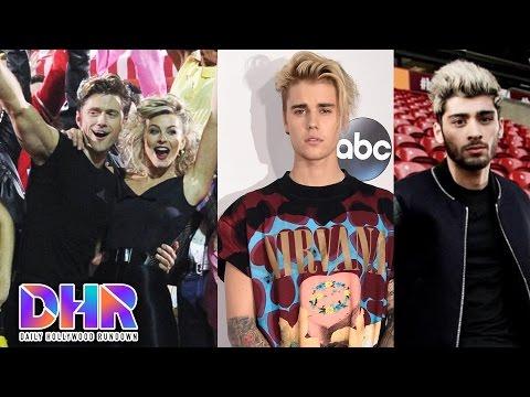 Grease Live Highlights - Justin Bieber Collaborating W/ Zayn Malik (DHR)