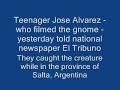 Gnome causes Terror in Argentina