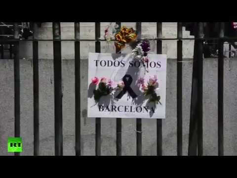 """""""Not in my name"""" shout Muslims in Barcelona"""