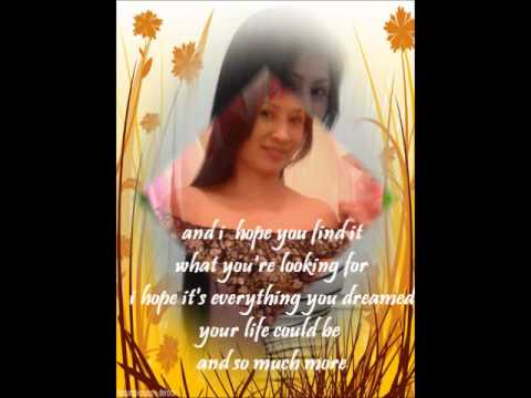I Hope You Find It By Cher With Lyrics video
