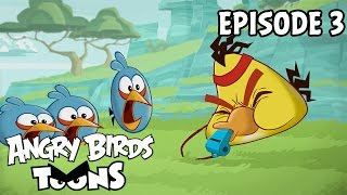Angry Birds Toons | Full Metal Chuck - S1 Ep3