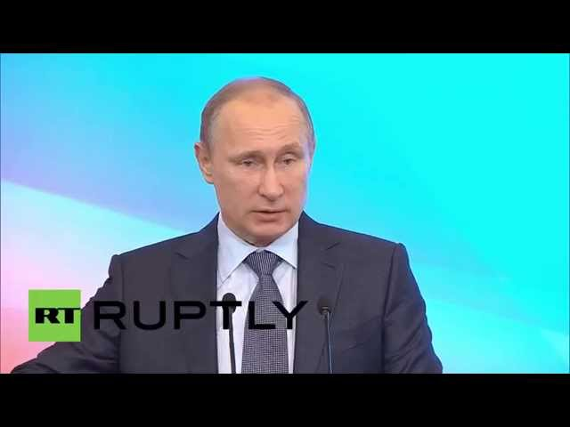 Russia: Vladimir Putin presents 2015's $21 billion anti-crisis plan
