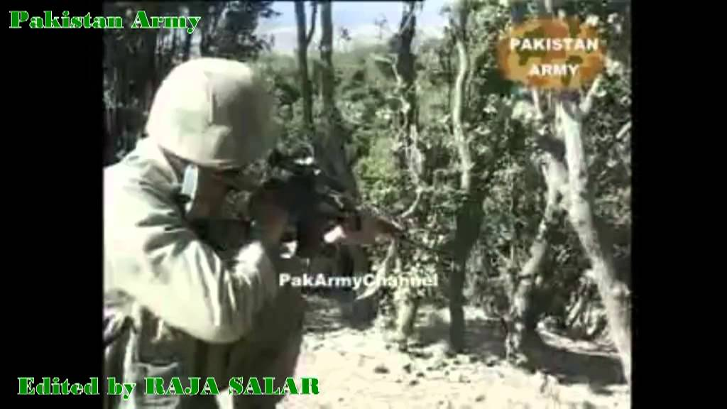 Combat footage Pakistan Army firepower - YouTube