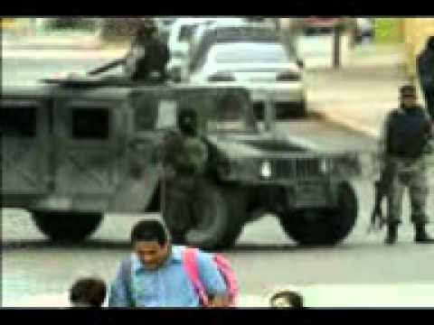 videos de balaceras de narcos vs militares