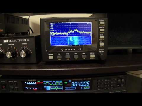 Elecraft P3 with Yaesu FT-950