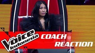 Wow! Kontestan Ini Bisa Bikin Coach Anggun Terkejut! | COACH REACTION | The Voice Indonesia GTV 2018
