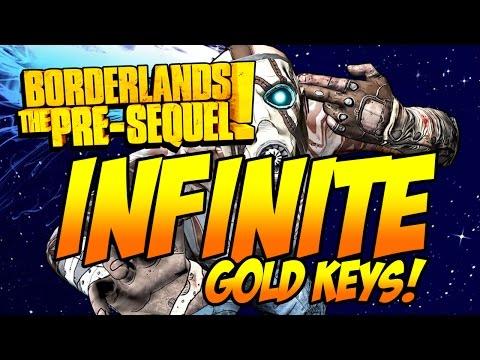 Borderlands - The Pre Sequel - INFINITE Gold Keys! [PC] - Stat Editor Tutorial [2015]