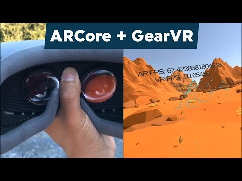 Positional Tracking on Gear VR ! Using ARcore = 6 DOF Standalone Tracking! (Unity 2017 Tutorial)