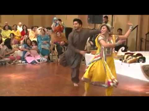 couple dance in own wedding