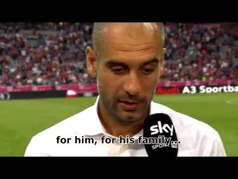 Pep Guardiola - Interview über Tito Vilanova - 24.07.2013 (English Subtitles)