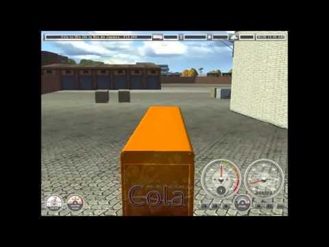 Gameplay: 18 wheels of steel haulin mod bus.