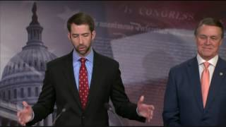 February 7, 2017: Sen. Cotton and Sen. Perdue Hold a Press Conference on the RAISE Act