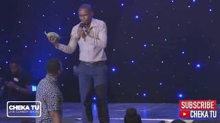 CHEKA TU. Mzalendo Edition. Mr Sanga kwenye stage.