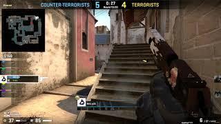 El BRASILEÑO presionado por el team ARG Counter Strike