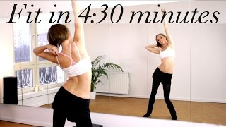 Short & sweet HOLIDAY Workout: get fit in 4:30 minutes with Coco Berlin