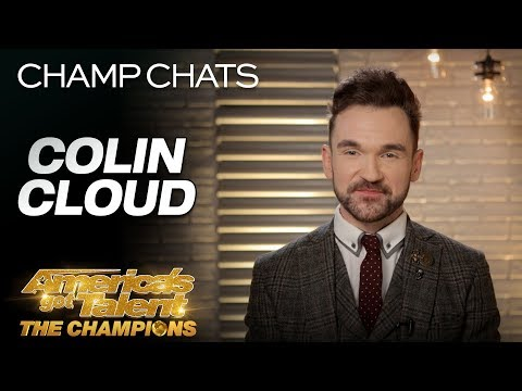 Colin Cloud Talks About His Biggest Reveal: DAVID HASSELHOFF! - America's Got Talent: The Champions