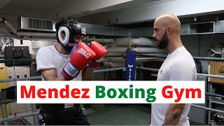 What a Town! - Boxing at NYC's Mendez Boxing Gym