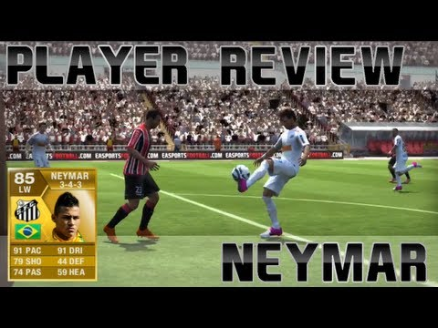 FIFA 13 Ultimate Team   Neymar Player Review #1
