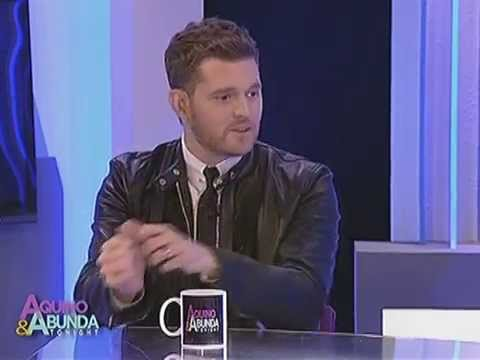 What are 3 favorite Michael Buble songs of Kris Aquino