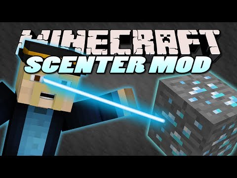 Minecraft Mods   SCENTER MOD (SMELL ORES & LOCATE THEM)   Mod Showcase