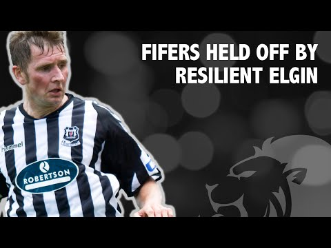 Fifers held off by resilient Elgin